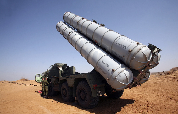 S-300 surface-to-air missile system