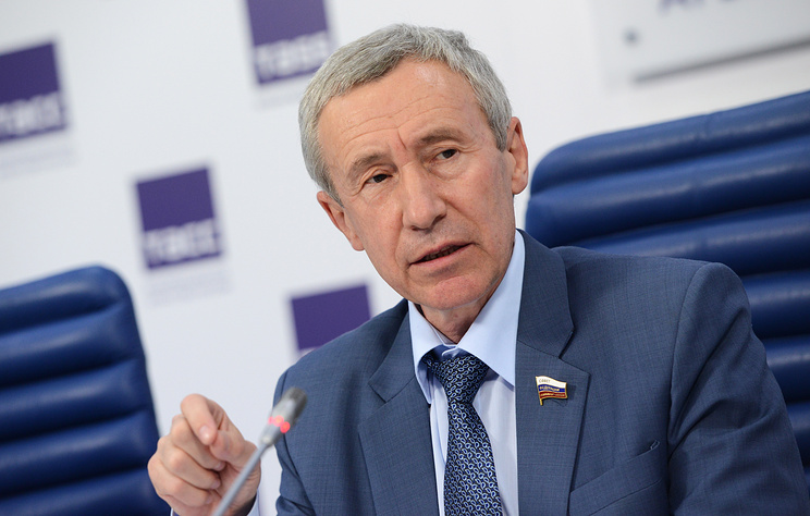 Russian Federation Council member Andrey Klimov