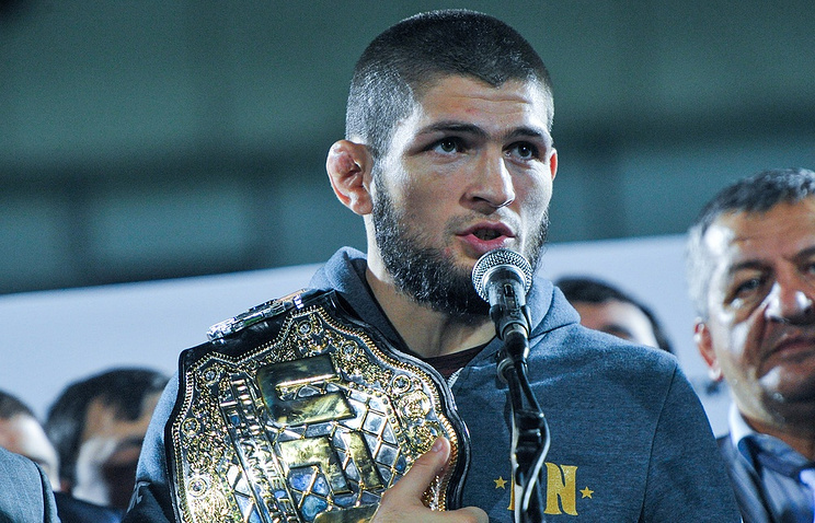 UFC lightweight champion Khabib Nurmagomedov