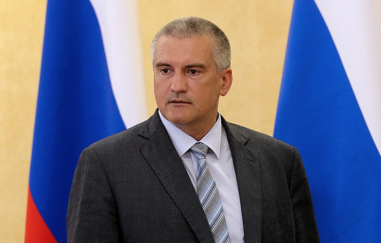Head of the Republic of Crimea Sergei Aksyonov