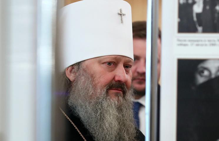 Father Superior of the Kiev-Pechersk Lavra, Metropolitan Pavel