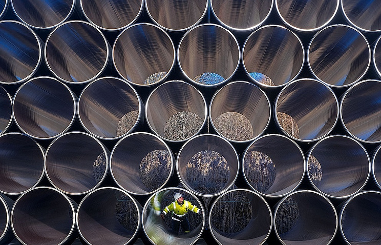 Pipes for the Nord Stream-2 pipeline