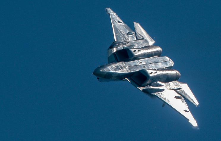 Su-57 jet fighter