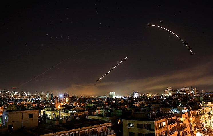 Syrian state media report missile attack as Israeli planes also seen
