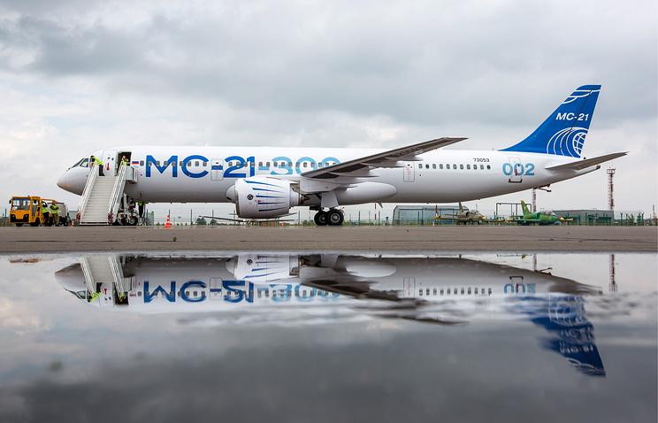 MC-21-300 passenger jet