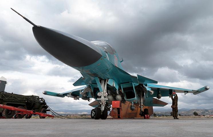 Su-34 aircraft