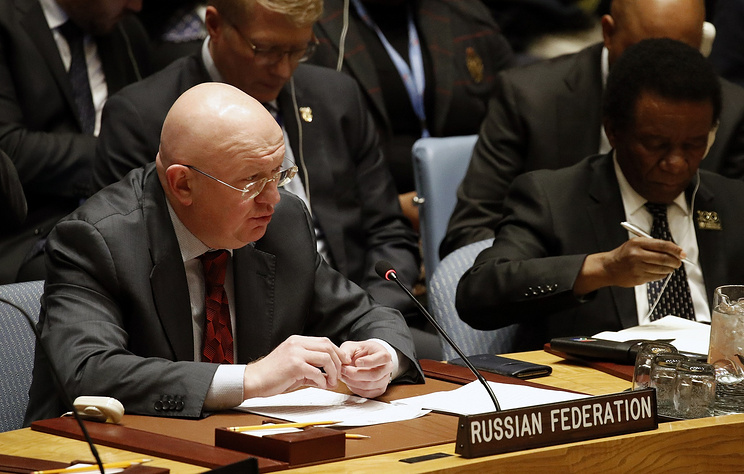 Russia's Permanent Representative to the United Nations Vassily Nebenzia