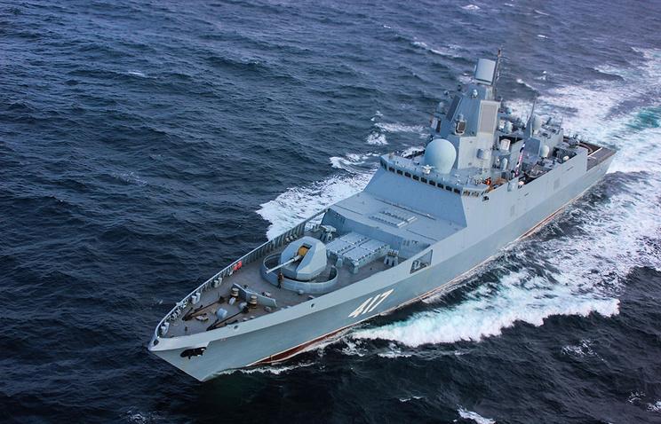 Admiral Gorshkov frigate