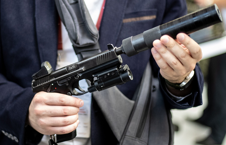 Lebedev PL-15 pistol