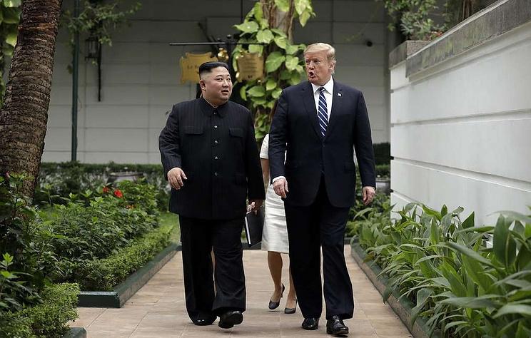 Kim, Trump open to United States liaison office in NKorea