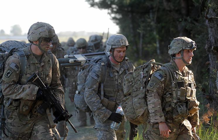 NATO multi-national land force training