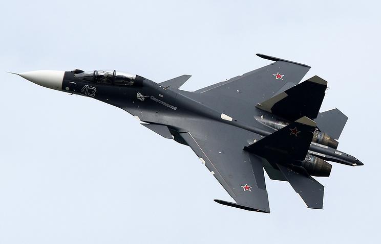 Su-30SM aircraft