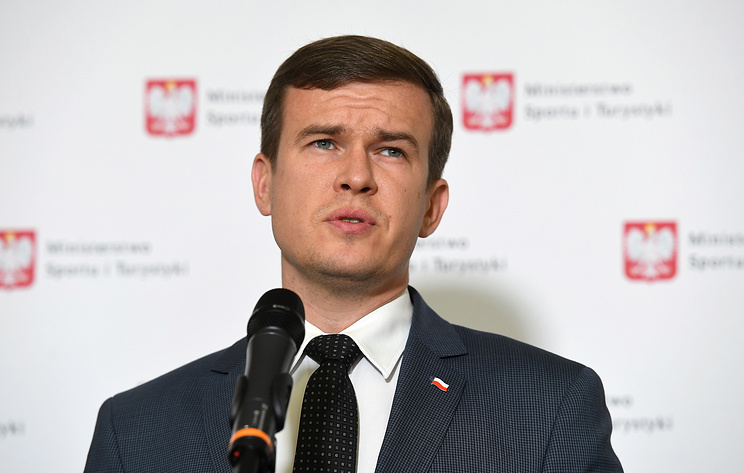 Polish Minister of Sports and Tourism Witold Banka