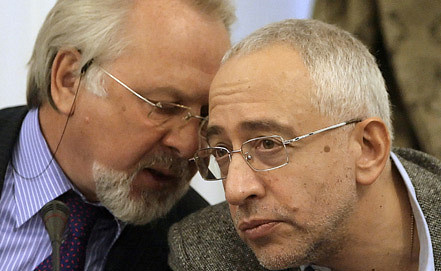 Candidates Gusev and Svanidze. Photo ITAR-TASS