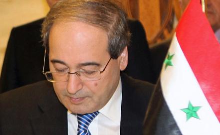 Faisal Muqdad. Photo EPA/ITAR-TASS