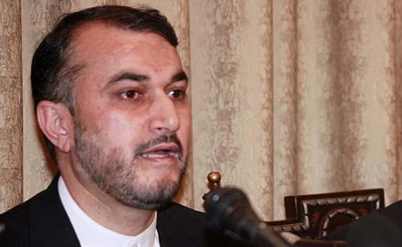 Deputy Foreign Minister of Iran Hossein Abdollahian, EPA/ ITAR-TASS
