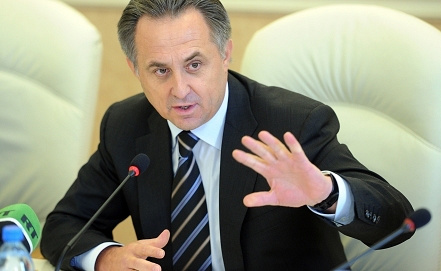 Vitaly Mutko, Photo ITAR-TASS