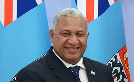 Josaia Voreqe Bainimarama, Photo ITAR-TASS