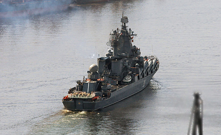 Guards missile cruiser 'Varyag', Photo ITAR-TASS