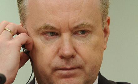 Russian Foreign Ministry spokesman Alexander Lukashevich, Photo ITAR-TASS/Stanislav Krasilnikov
