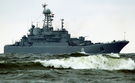 Ropucha-class landing ship Minsk. Photo ITAR-TASS archive/ Igor Zarembo