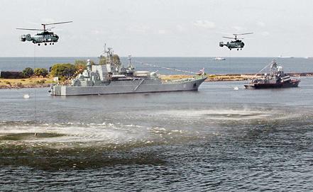 Large landing ship Minsk, photo ITAR-TASS/ Igor Zarembo