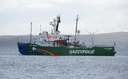 Photo ITAR-TASS/EPA/IGOR PODGORNY/GREENPEACE