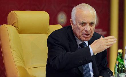 Arab League Secretary-General Nabil al-Arabi. Photo ITAR-TASS/ERA/STR