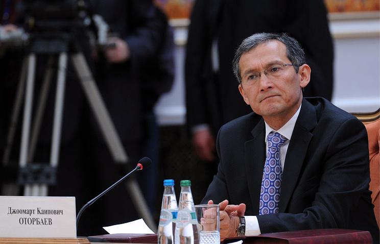 First Deputy Prime Minister Dzhoomart Otorbayev