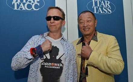 Иван Охлобыстин и Кэри-Хироюки Тагава. Фото ИТАР-ТАСС