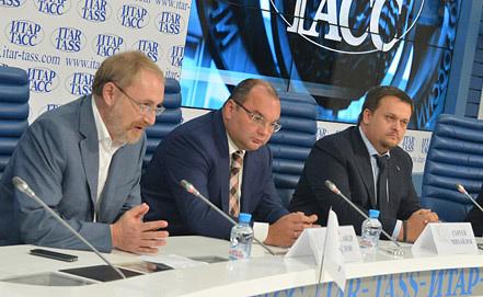 Александр Ослон, Сергей Михайлов и Андрей Никитин. Фото ИТАР-ТАСС/ Юрий Машков
