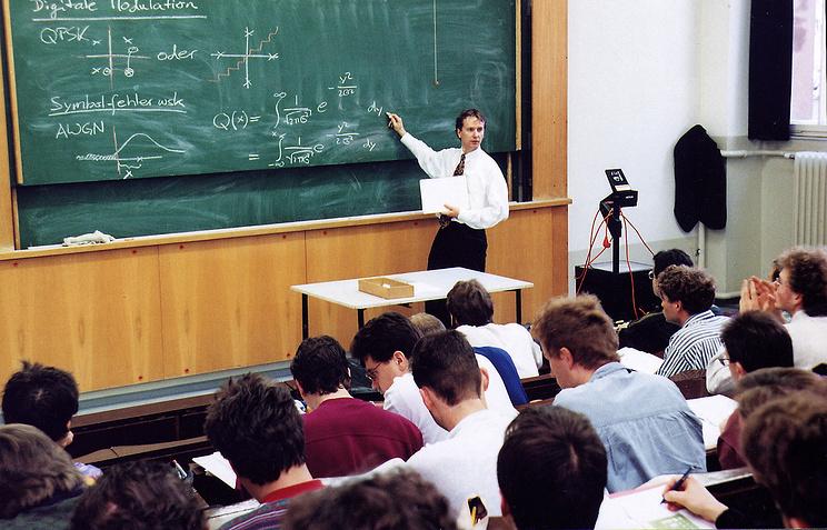 Лекция в Дрезденском техническом университете