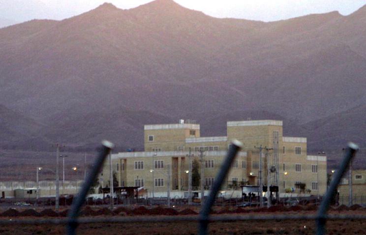 Иран. Завод в городе Натанзе