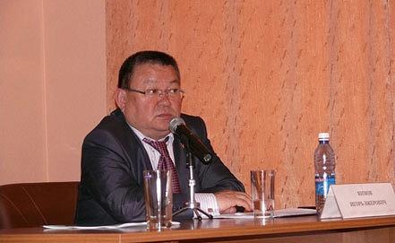 Руководитель Минздрава республики Алтай Игорь Яимов. Фото minzdrav.med04.ru