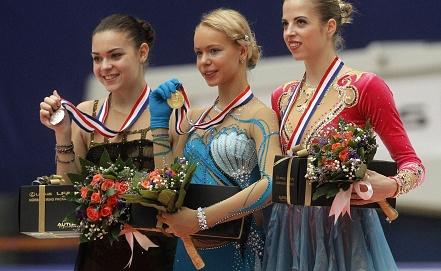 Анна Погорилая /в центре/. Фото EPA/ROLEX DELA PENA