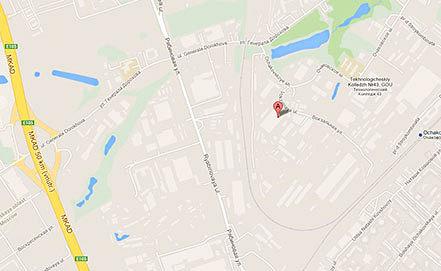 Очаковское шоссе, 36. Карты Google Maps