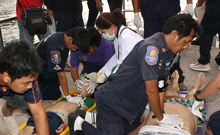 Спасение пассажиров. EPA/STR