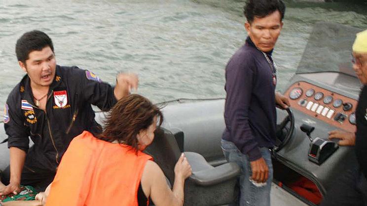 Во время операции по спасению пассажиров. ЕРА/STR