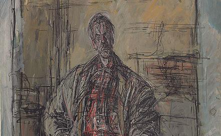 """Альберто Джакометти. """"Диего в клетчатой рубашке"""". Фото Christie's"""