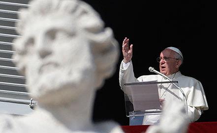 Папа Римский Франциск. Фото AP Photo/Andrew Medichini