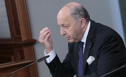 Министр иностранных дел Франции Лоран Фабиус. Фото ИТАР-ТАСС/ Михаил Метцель