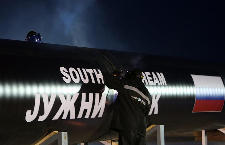 """Участок газопровода """"Южный поток"""" в Сербии"""