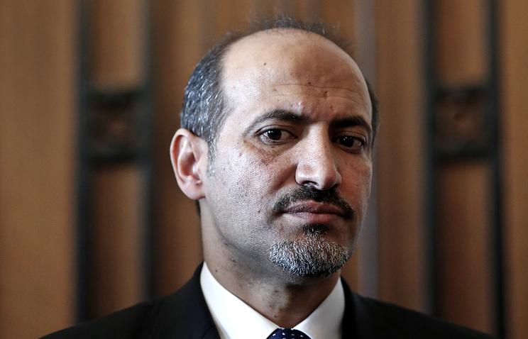 Глава Национальной коалиции оппозиционных и революционных сил Сирии /НКОРС/ Ахмед аль-Джарба