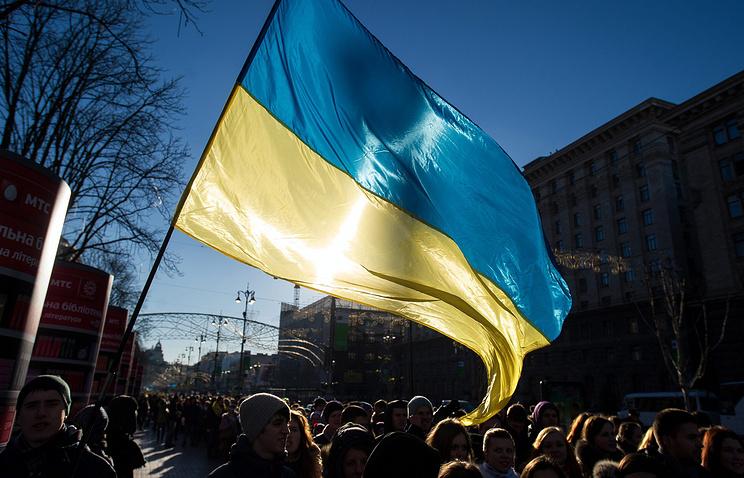 Акции в поддержку евроинтеграции продолжаются на Украине