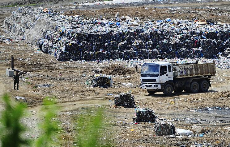 Работа мусороперерабатывающего предприяти