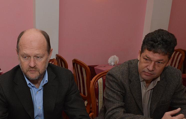 Александр Тукманов и Николай Савичев /слева направо/