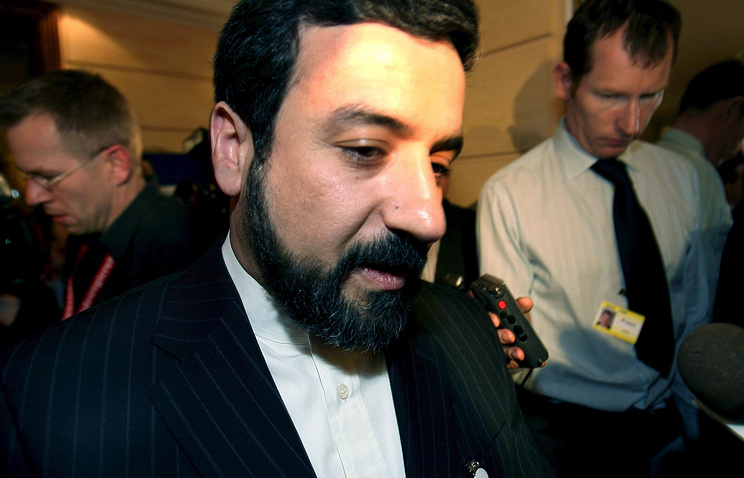 Заместитель министра иностранных дел ИРИ Аббас Арагчи