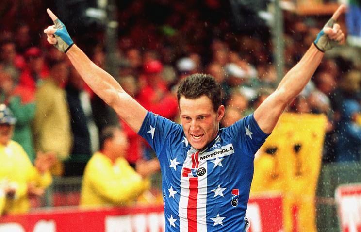 Лэнс Армстронг в 1993 году