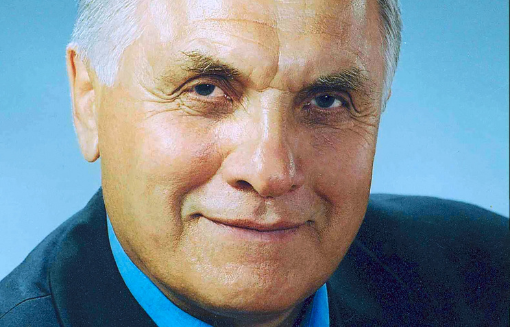 Заслуженный тренер РФ по греко-римской борьбе Вадим Горбенко