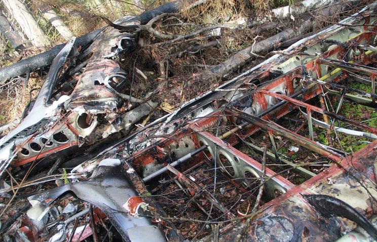 Обломки пропавшего в прошлом году Ан-2